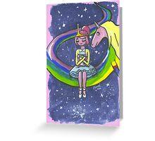 Princess Bubblegum Greeting Card