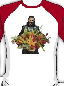 loki with flowers T-Shirt