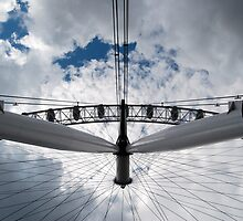 London Eye - Clouds by jookboy