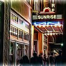 Showtime at the Sunrise Theater by Noble Upchurch
