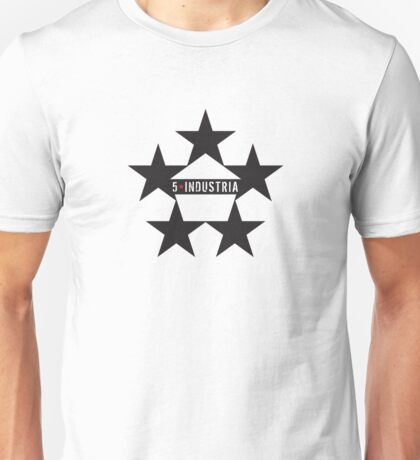 5* Estrella Símbolo Unisex T-Shirt