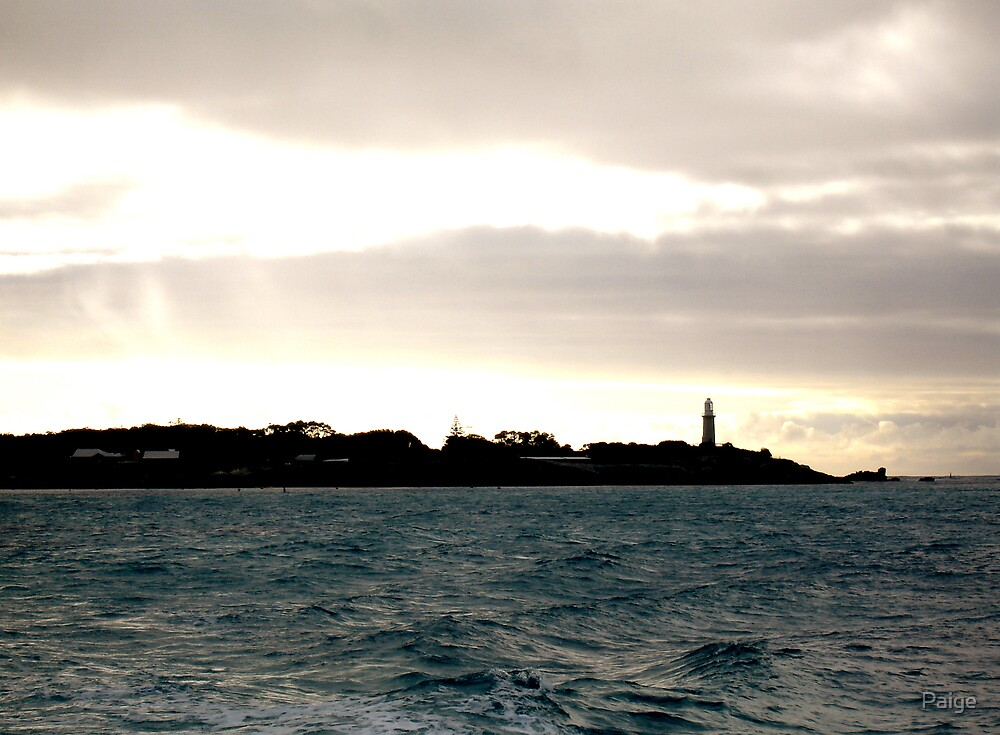 Rottnest Island at dusk by Paige