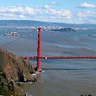 Golden Gate Bridge by Samantha Rubin