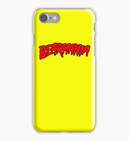 Bearmania Red iPhone Case/Skin