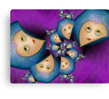 Inner Child - As These Hearts Fall Asleep Canvas Print