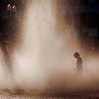 The fountain by Deri Dority