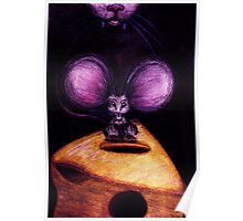 M is for Mouse Poster