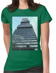 Modern Architecture, Jersey City, New Jersey Womens Fitted T-Shirt