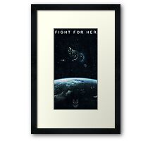 Fight for Her Framed Print