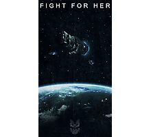 Fight for Her Photographic Print