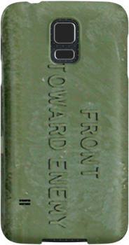 """""""Front Toward Enemy"""" - Cell Phone  Case by Buckwhite"""