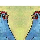 Blue Chicken on Products by Cindy Schnackel