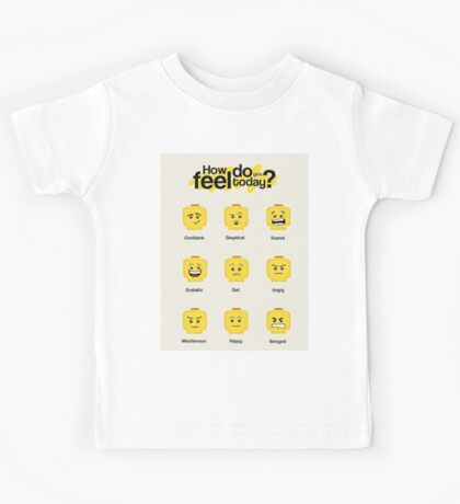 Lego feelings Kids Tee