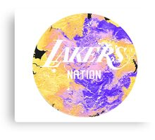 Lakers Nation Canvas Print