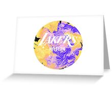 Lakers Nation Greeting Card