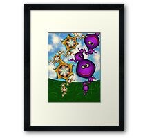 Inner Child - Eat your Fruits and Vegetables Framed Print