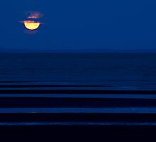 Brighton Moonrise by Judy Harland
