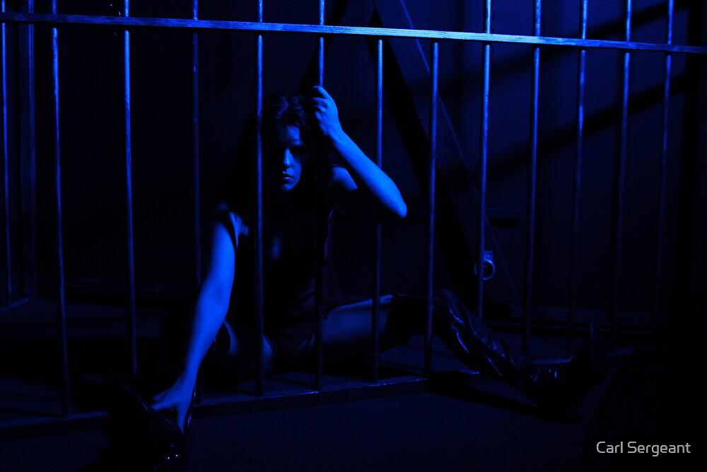 feeling blue by Carl Sergeant