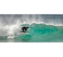 Dicky Beach Surfer Photographic Print