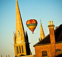 Ballooning over Bendigo by Marcus Mawby