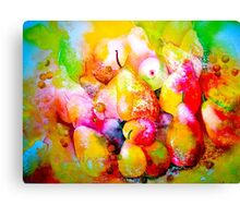 Pears in Abundance... Canvas Print