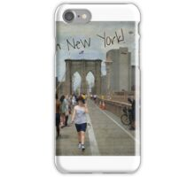 Kisses from New York iPhone Case/Skin