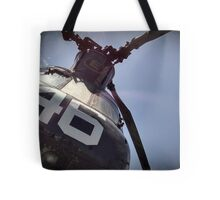 Dad's Chinook Helicopter CH-46 Tote Bag