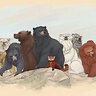 Hobbit Bears by AiWa