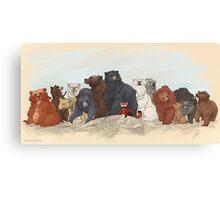 Hobbit Bears Canvas Print