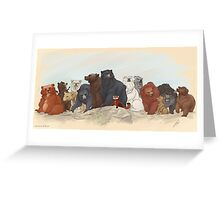 Hobbit Bears Greeting Card