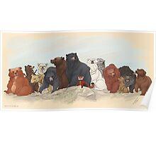 Hobbit Bears Poster
