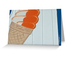 Kohr's Cones Greeting Card