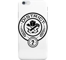 District 2  iPhone Case/Skin