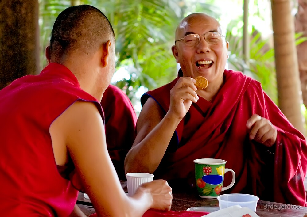 Laughing Buddha by 3rdeyefotos