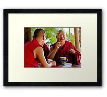 Laughing Buddha Framed Print