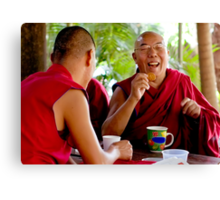 Laughing Buddha Canvas Print