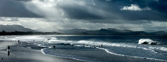 Byron Beach Winter Landscape by 3rdeyefotos