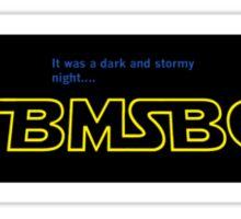 TBMSBC Star Wars Design Sticker