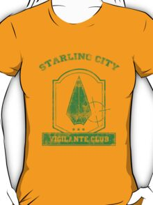 Starling City Vigilante Club 2 T-Shirt