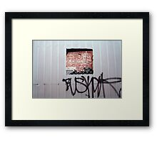 Goodyear In Review Framed Print