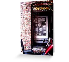 Gumstruck Alley Greeting Card