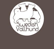 Swedish Vallhund-white Unisex T-Shirt