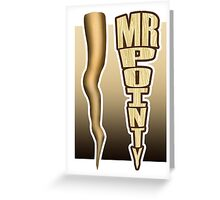Mr. Pointy - Buffy Greeting Card
