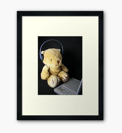 Trendy Teddy Framed Print