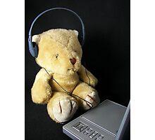 Trendy Teddy Photographic Print