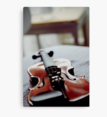 Violin Masters Canvas Print