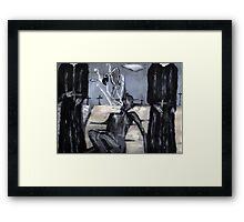 an exorcism #2 Framed Print