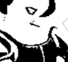 Tri Delta Snow White Sticker