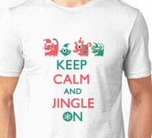 Keep Calm and Jingle On Unisex T-Shirt