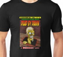 Dead by Dawn ZX Spectrum Game Inlay Art (official) Unisex T-Shirt